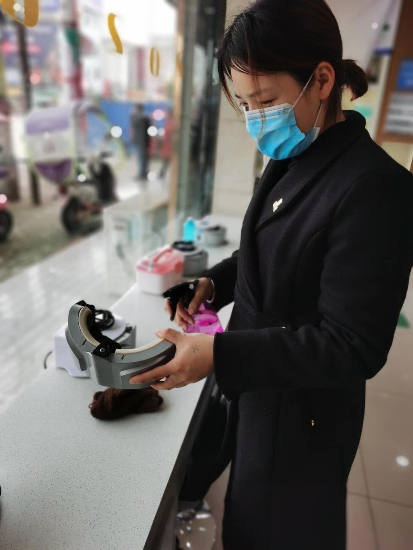 皇冠眼镜各大门店复工第一天,来看看我们怎么防控疫情的